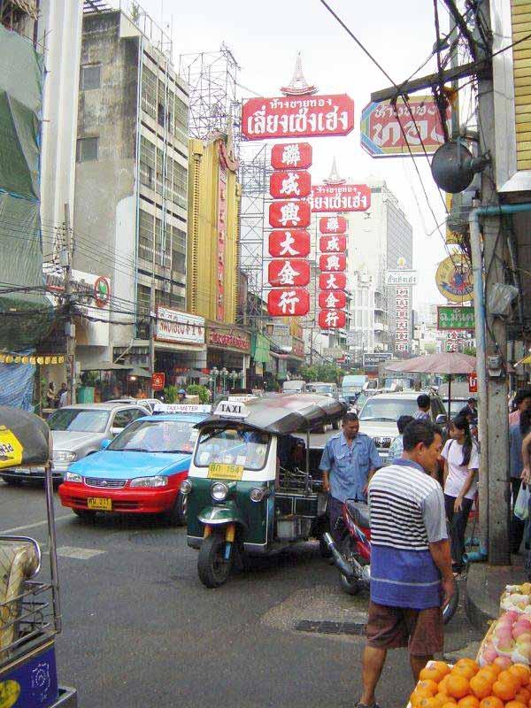 yaowarat road in bangkok das herz von chinatown. Black Bedroom Furniture Sets. Home Design Ideas