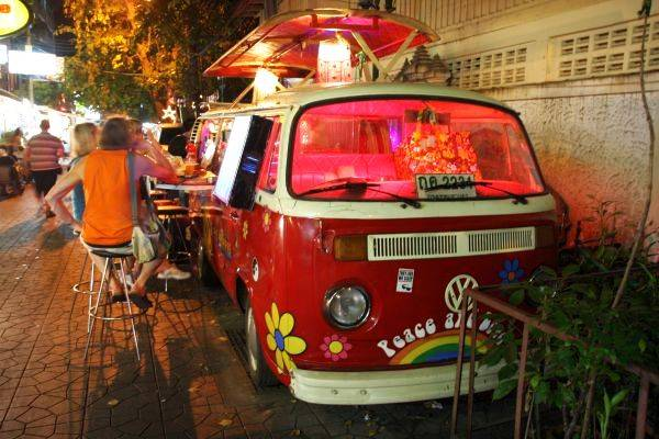Rambuttri Road VW Bus