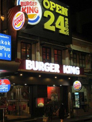 Khaosan Road Burger King