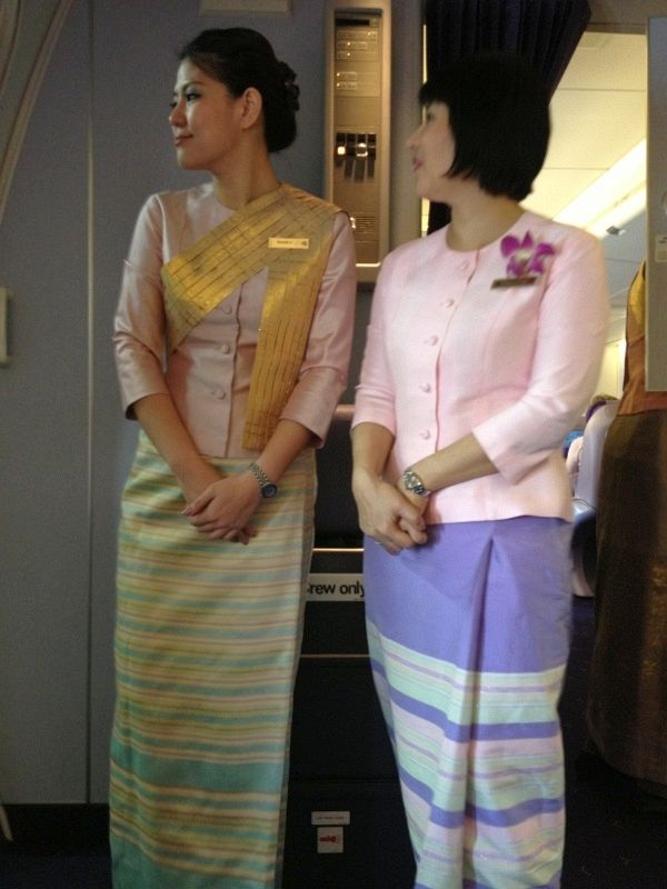Thai Airways Flugbegleiterinnen