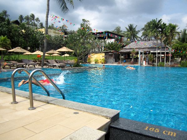 New Star Beach Resort Pool