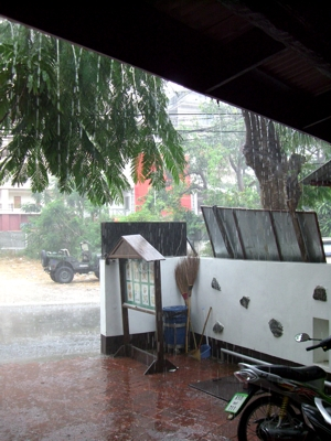 heftiger regen thailand